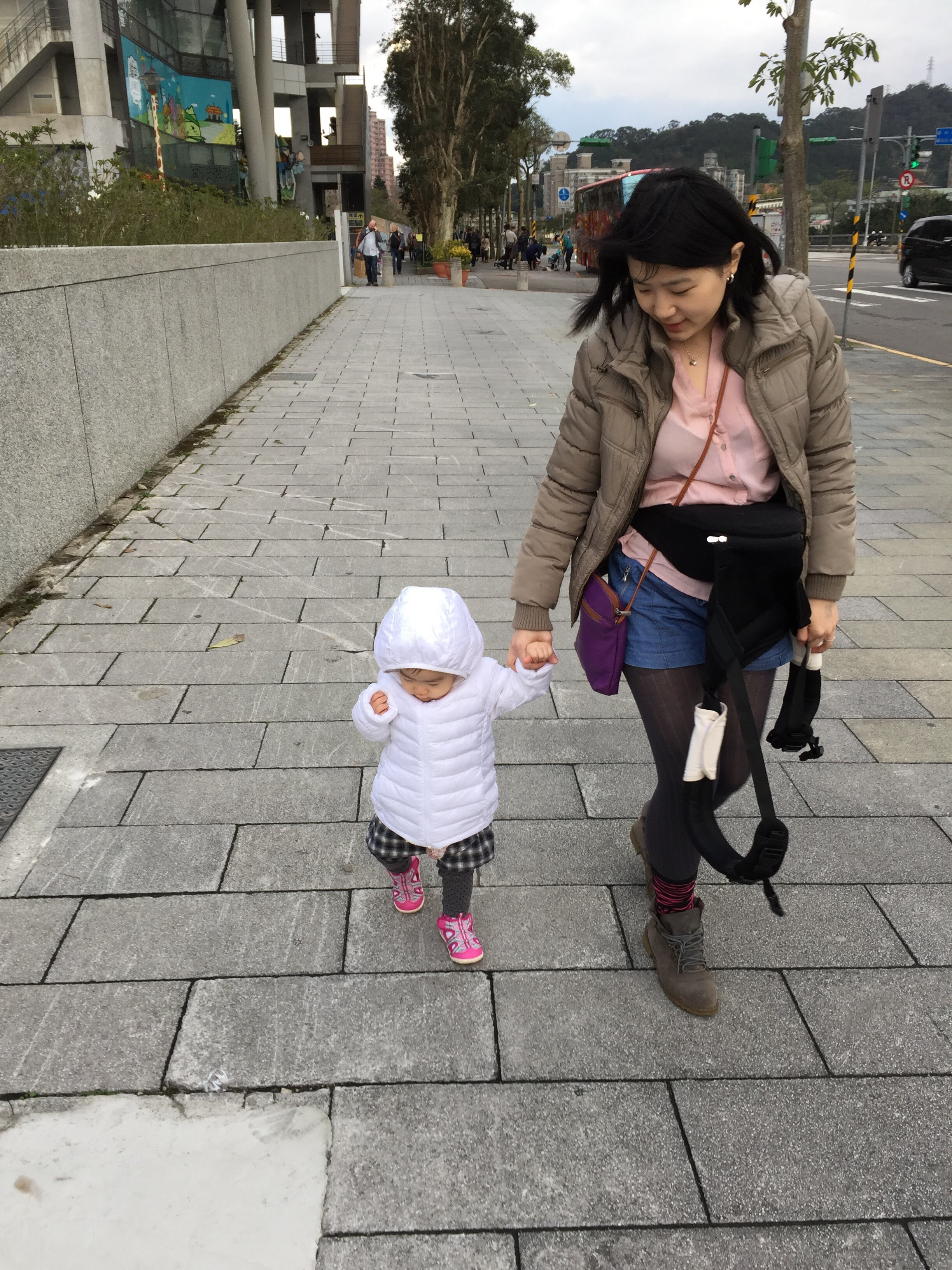 Traveling with a baby in Taiwan