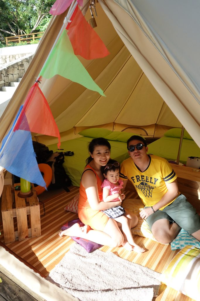 Glamping at Nayomi Sanctuary Resort