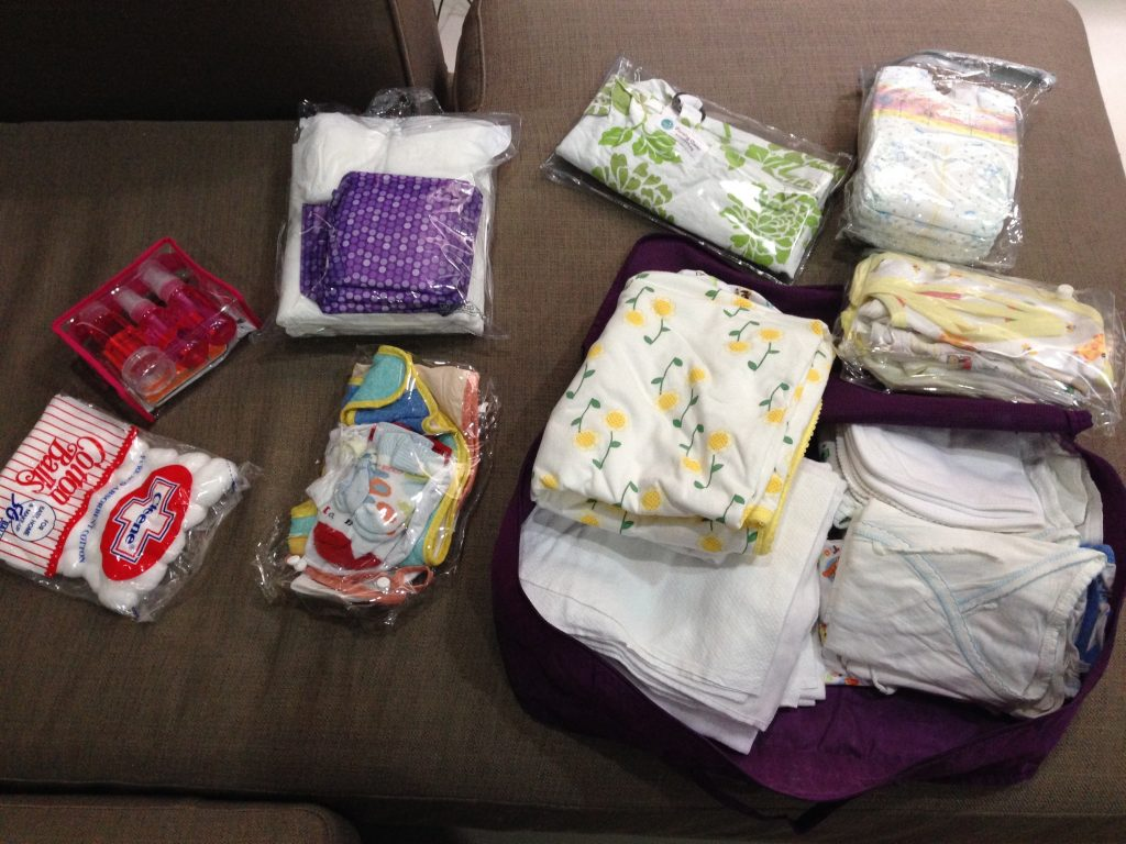 What to bring for newborn in hospital