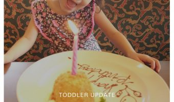 Toddler Update | Light @ 3