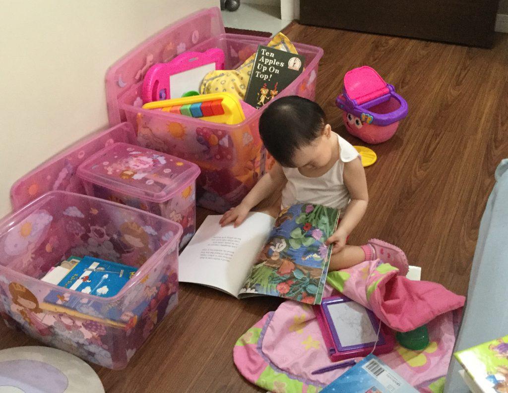 Reading Child 1