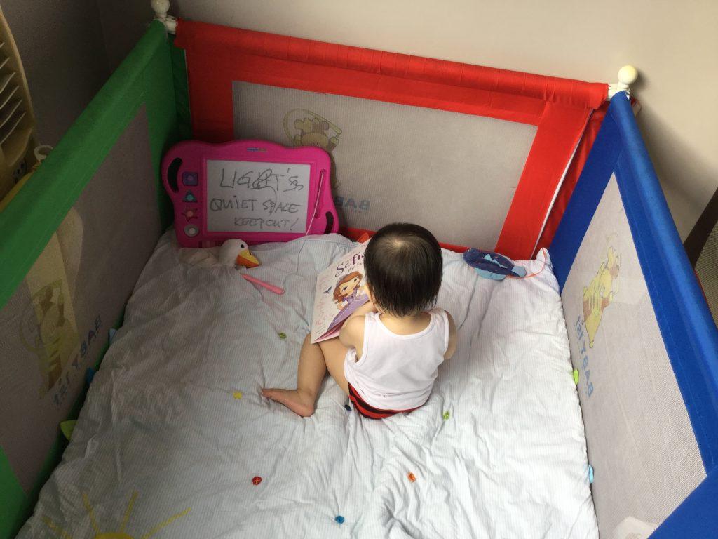 Reading Child 3