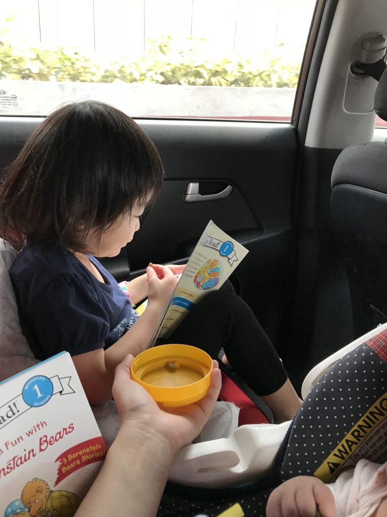 Reading Child 5