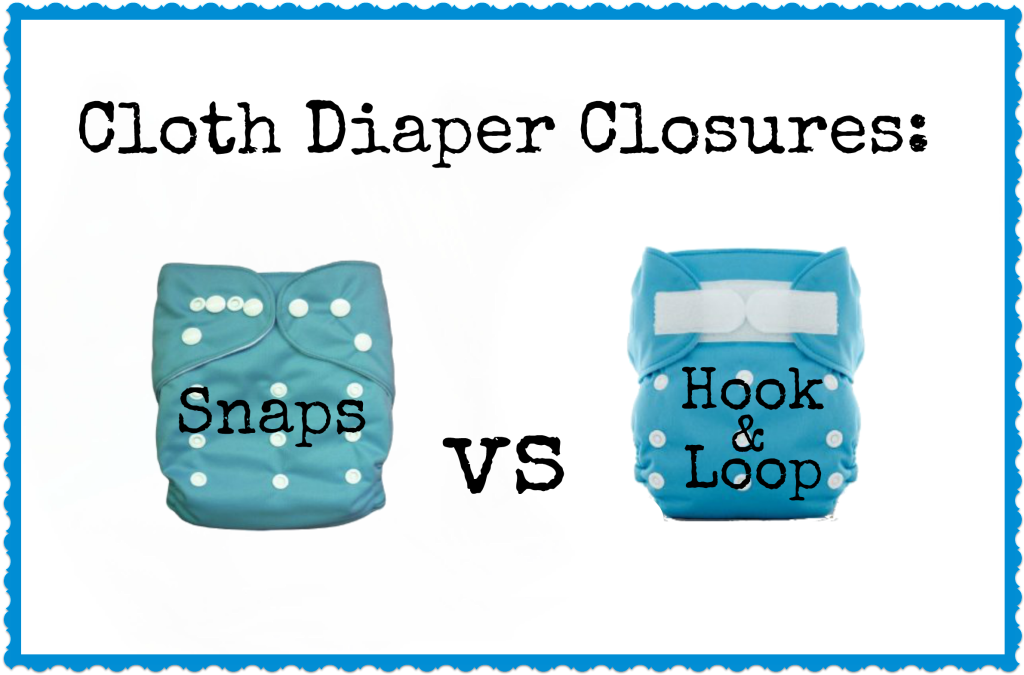 closing options for cloth diapers