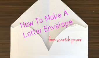 How To Make A Letter Envelope
