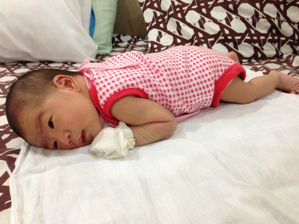 Newborn Tummy Time