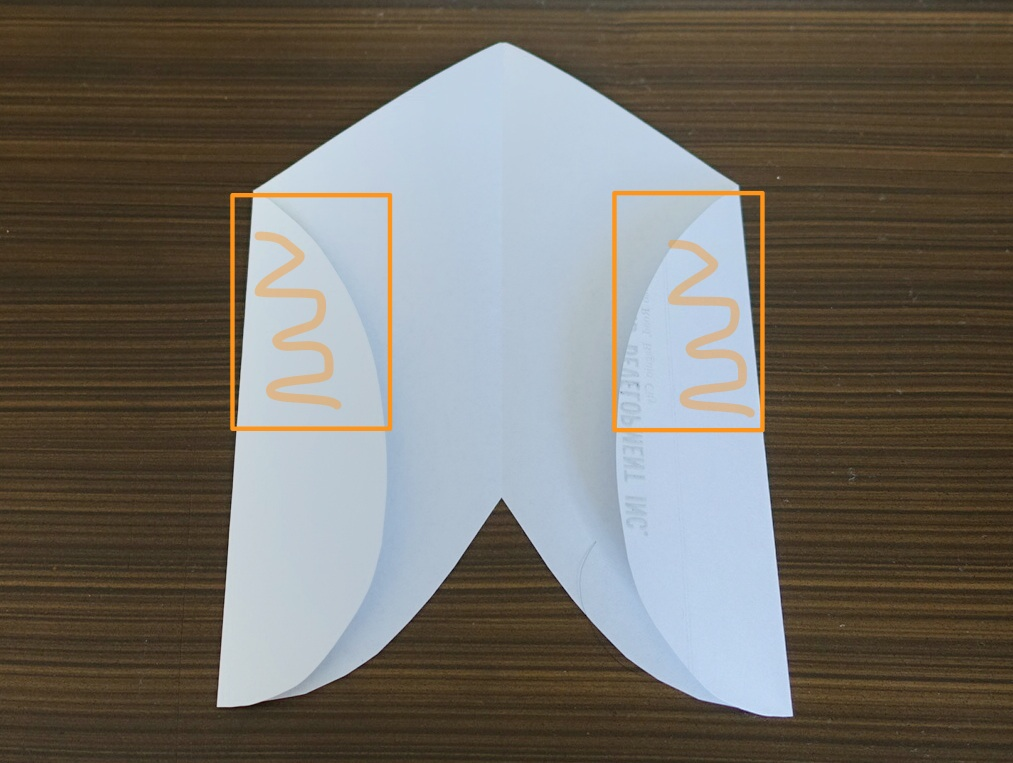 Letter Envelope from Heart Shape