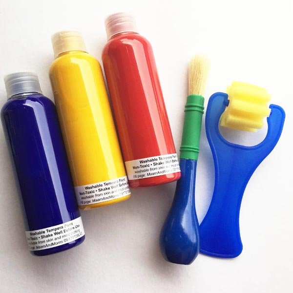 Toddler Paint Set at Light Ong
