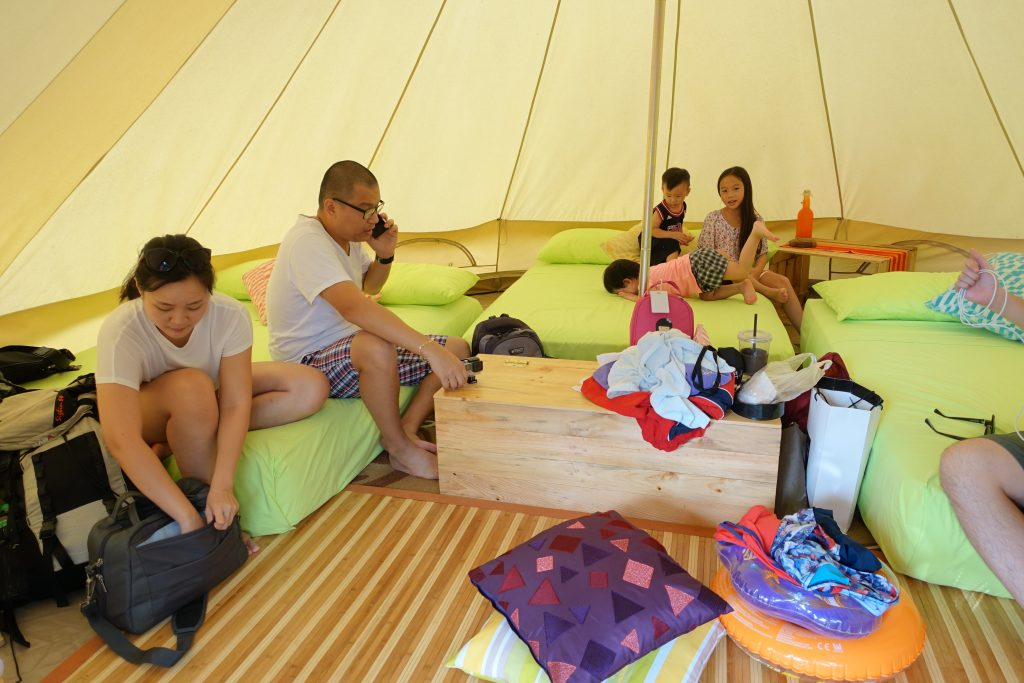 Glamping for the family