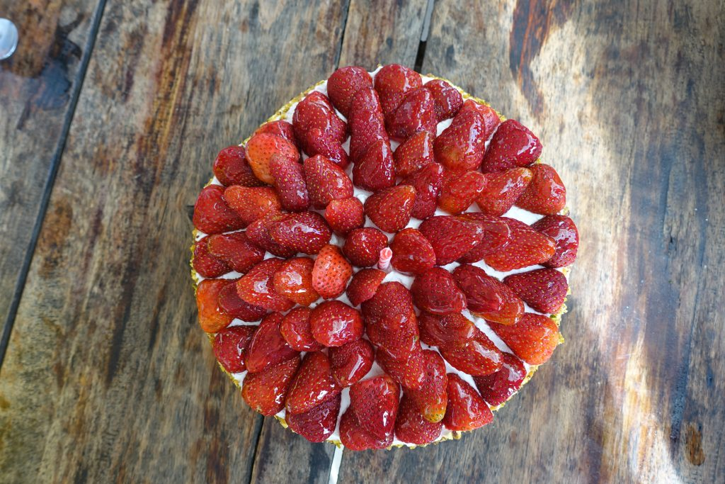Baguio Country Club Strawberry Shortcake