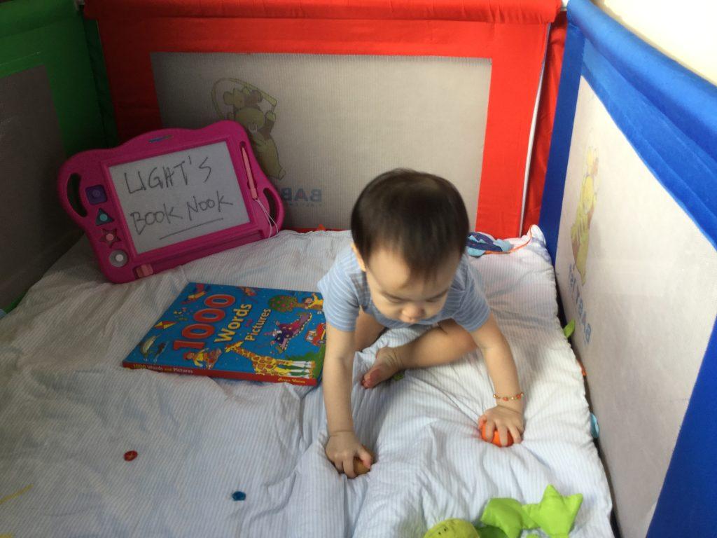 Reading Child 2