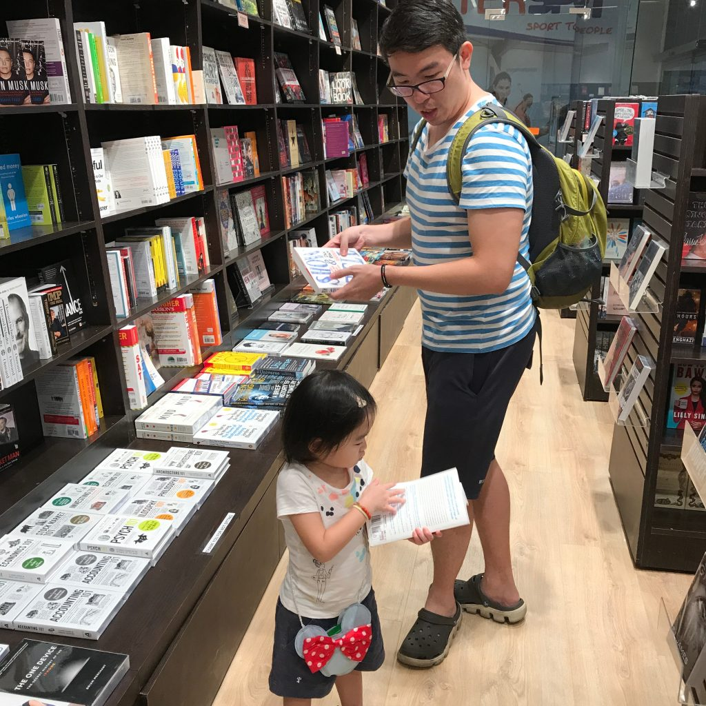 Reading Child 4
