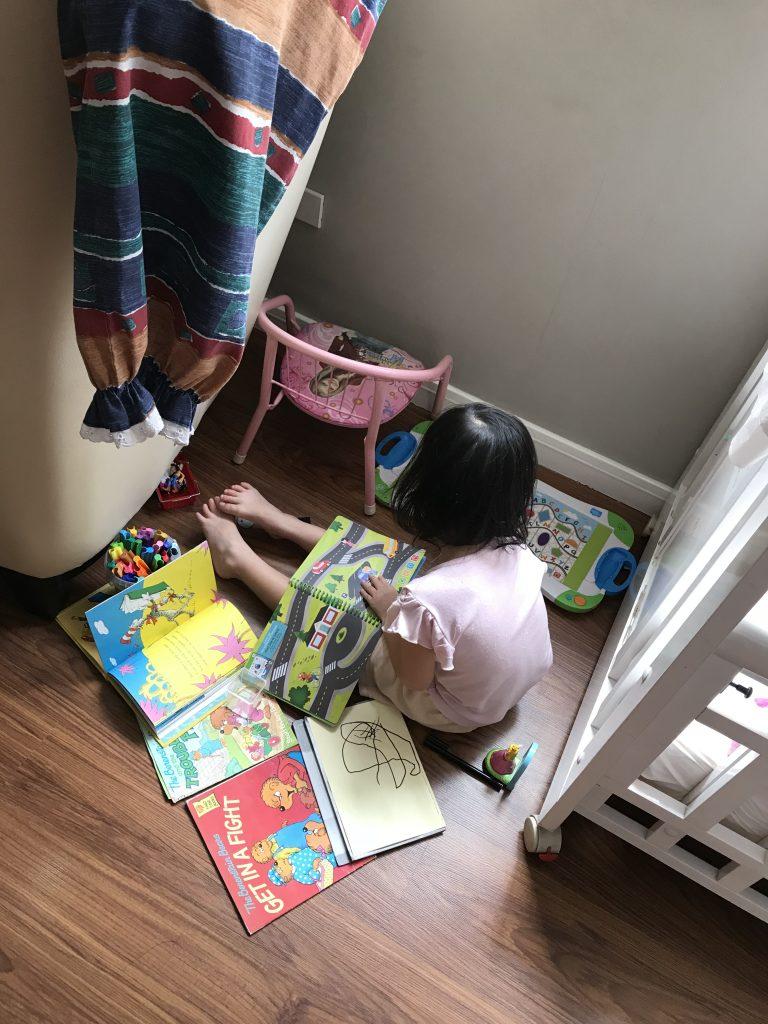 Reading Child 6