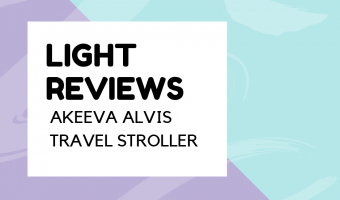 Akeeva Alvis Pocket Stroller Review and Unboxing