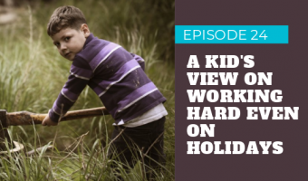 Kids Working Hard