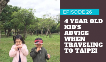 Light Advice Podcast Episode Traveling to Taipei