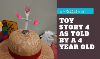 Light Advice Podcast Episode 51 Toy Story 4 review podcast